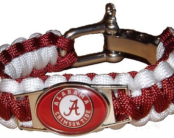 Alabama Roll Tide Lanyard & Paracord Bracelet