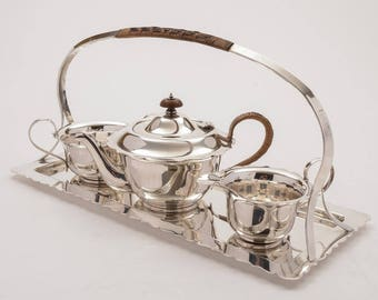 Edwardian Tea For Two Set, Circa 1905
