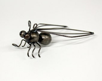 Metal decoration/wall decoration-fly