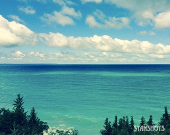 Pure Lake Michigan Print
