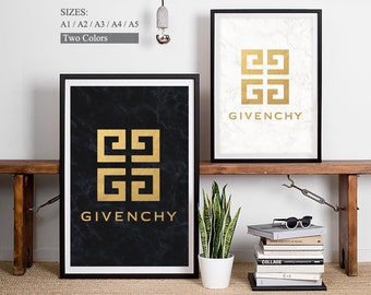 Givenchy Logo Givenchy Art Print Givenchy Symbol Givenchy Perfume Logo Perfume Brands French Fashion Paris Fashion French Companies Perfume