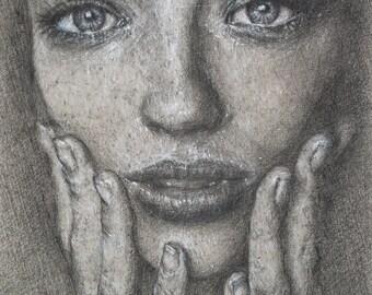 Limited Edition Print, 'Portrait #7'
