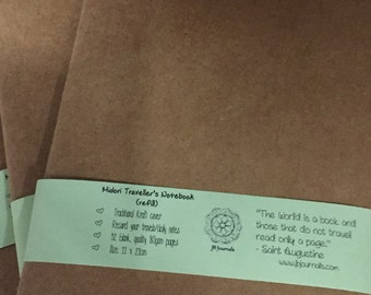 Midori Style Travelers Kraft Notebook Refill