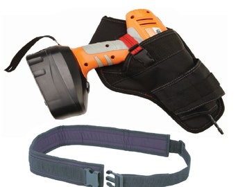 Padded Tool belt Nylon with Power Tools Drill Holder Holster Organizer