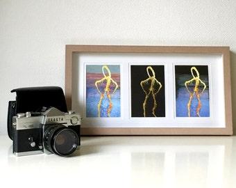 Triple Framed Sculpture Illustrations
