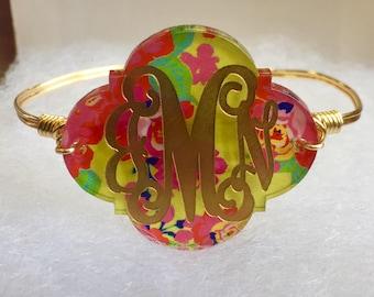 Lily Custom Initial Bracelet