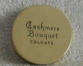 Vintage Cashmere Bouquet Colgate Rouge Compact Tin