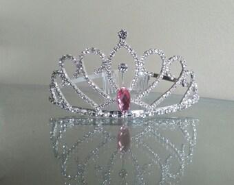 Pink Princess Crown,  Princess Tiara