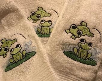 Custom 3pc Bath Towel sets