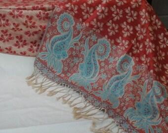 Cashmere, wrap/shawl