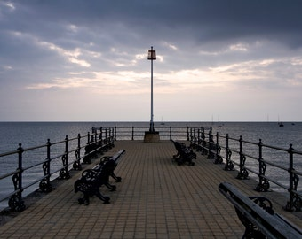 Landscape Photography Swanage Pier Sun Rise