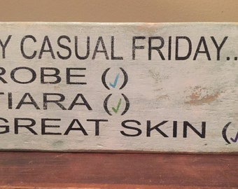 Handmade R + F country wooden sign