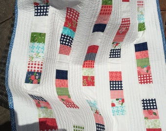 Baby quilt , lap quilt, small quilt, pram quilt, baby shower