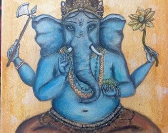 Original Ganesh/Ganapati painting