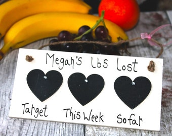 Weight Loss Plaque -Slimming World -Weight Loss Countdown Plaque -Weight Watchers -weight loss tracker-Weight loss Journey -weight loss aid
