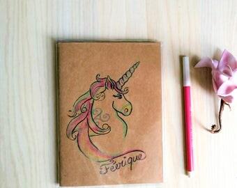 "Book ""magical"" Unicorn Rainbow"