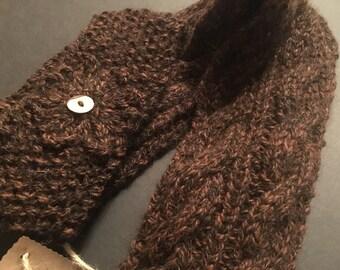 100% Alpaca Scarf & Headband