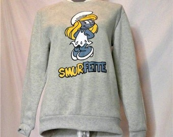Vintage Smurfette Sweatshirt from the 80's