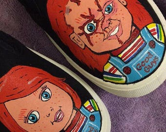 Chucky shoes (Garanimals/Faded Glory, Vans, or Converse)