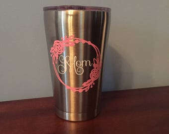 Personalized Mom Tumbler, Mother's day gift, Mom, New Mom Gift