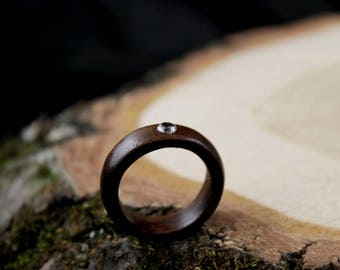 Engagement ring,  wood engagement ring, womens wooden ring, wood ring women, wood rings for women, womens wood bands, wood ring, wooden ring
