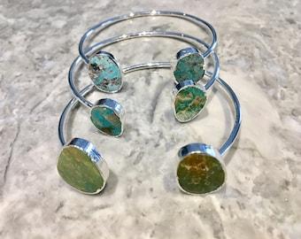 Turquoise Bracelet,Turquoise Cuff Bracelet,Turquoise Gold Stone Bangle,BOHO,Stone Cuff,Gemstone cuff,Turquoise Bangle Bracelet,Boho Bracelet