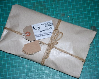 Brown Paper Packages Tied up with String! Gift Wrapping.