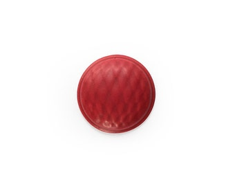 Ceramic Red Velvet Cabochon 1 piece