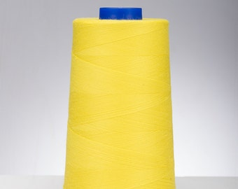 Professional Grade Tex 27 Thread (Citron Yellow, 1 spool)