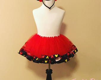 Minnie Mouse ribbon tutu