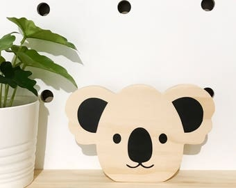 Koala wooden decor