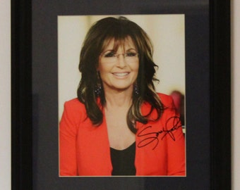 Sarah Palin, is an American politician, commentator, served as the ninth Governor of Alaska from 2006 until her resignation in 2009. FRAMED