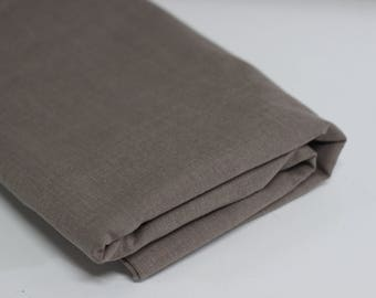 Beige Suiting Fabric Mid Weight Polyester