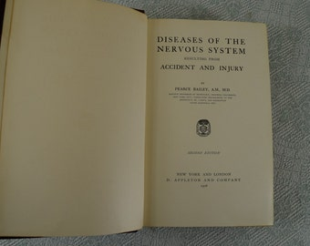 Diseases of the Nervous System Resulting From Accident and Injury