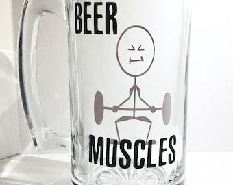 Beer Muscles Beer Mug