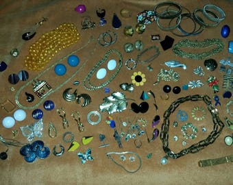 Jewelry lot destash , repair, craft, repurpose