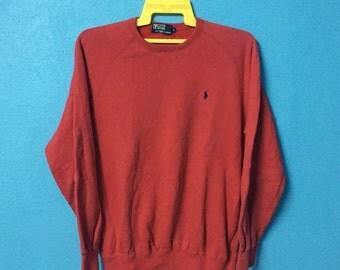 Rare!!vintage 90s polo ralph lauren sweatshirt size L