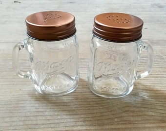 Salt & Pepper Mason Jar Shakers
