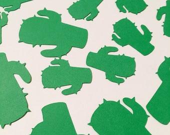 300 Green Cactus Confetti