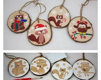DIY Christmas Craft Project DIY Christmas Ornament Craft Kit