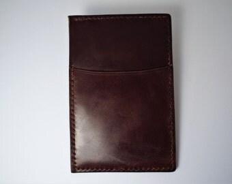 Shell Cordovan Card Wallet