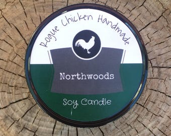 Northwoods 13oz Soy Wax Scented Candle