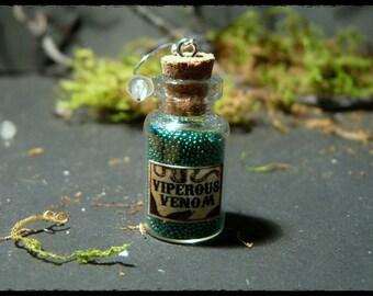 Bottle Earrings (green)
