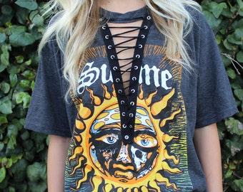Sublime Laced Up Band Tee