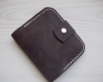 Leather wallet minimalist womens leather wallet coin wallet coins purse credit card wallet slim leather wallet