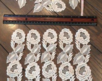 Venice Lace Appliques ~ Ivory