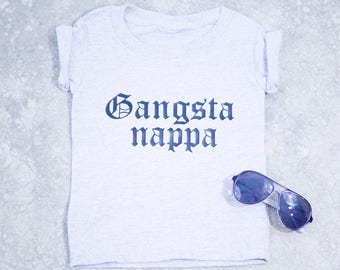 Gangsta Napper Todller Tshirt - Mommy and Me Tshirts
