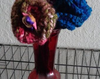 """flower/fairy/handknit-- """"Fairy flower bouquet"""""""