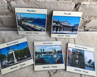 Vintage Coasters of Montevideo, Uruguay
