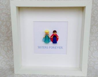 Frozen Sisters Forever Frame